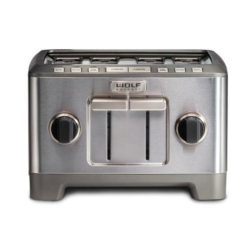 Wolf - Four Slice Toaster - Black Knob