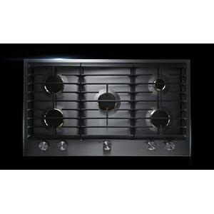 "JennAir - Euro-Style 36"" 5-Burner Gas Cooktop"