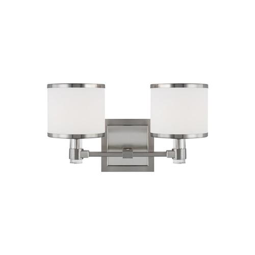 Winter Park 2 - Light LED Vanity Satin Nickel Bulbs Inc