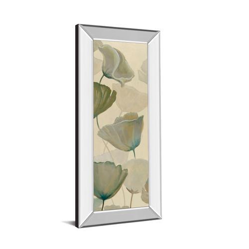"""Poppy Impression Panel 1"" By George Generali Mirror Framed Print Wall Art"