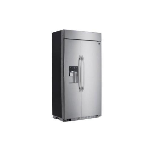 LG Studio - LG STUDIO 26 cu. ft. Smart wi-fi Enabled Side-by-Side Refrigerator