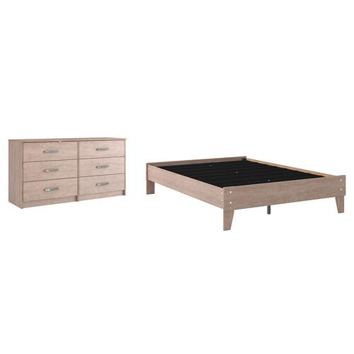 Gallery - Full Platform Bed With Dresser