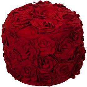 """Felted Floral POUF-27 14""""H x 18""""W x 18""""D"""