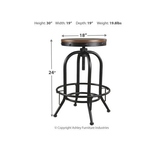 Signature Design By Ashley - Valebeck Bar Height Bar Stool