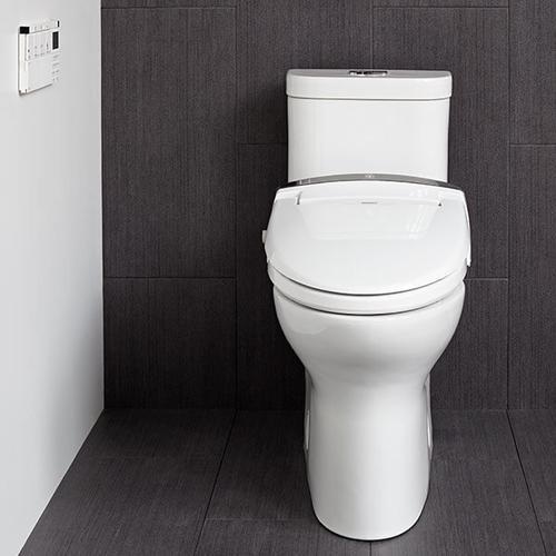 AT100 Electronic Bidet Smart Toilet Seat - Canvas White