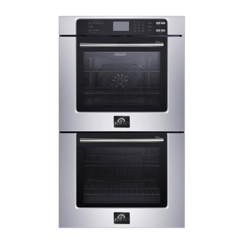 Forno Canada - 30'' Electric Double Wall Oven - Self Clean Touch Control - FBOEL1365-30