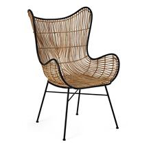 See Details - Acerra Woven Wicker Chair