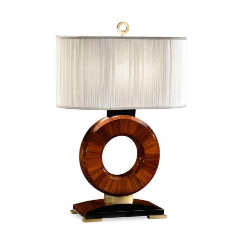 """Porthole"" table lamp with brass"