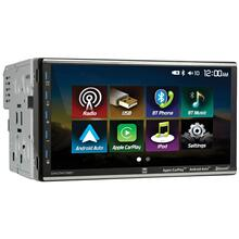 7-Inch Double-DIN In-Dash Mechless Receiver with Bluetooth®, Apple CarPlay , and Android Auto