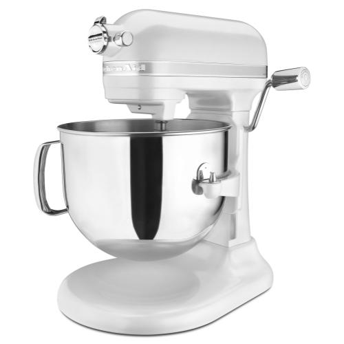 Pro Line® Series 7 Quart Bowl-Lift Stand Mixer - Frosted Pearl White