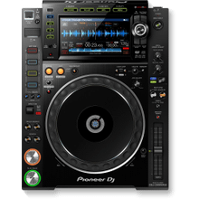 Professional DJ multi player with disc drive