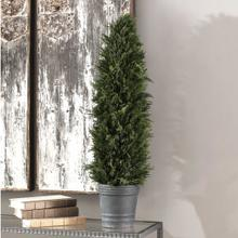 See Details - Cypress Cone Topiary