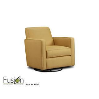 Gold Mine Swivel Glider Chair