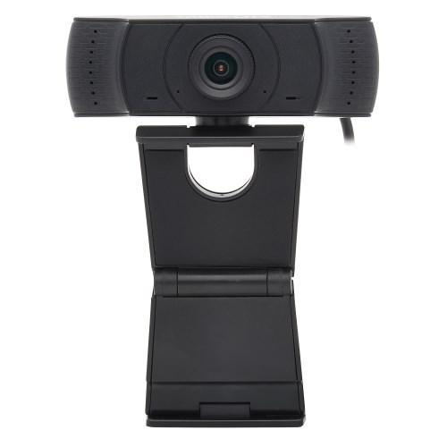 HD 1080p USB Webcam with Microphone for Laptops and Desktop PCs