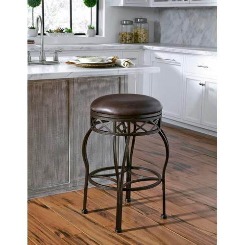 Product Image - Backless Adjustable Metal Frame Barstool
