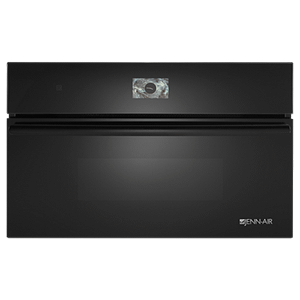 "Black Floating Glass 30"" Built-In Microwave Oven with Speed-Cook"