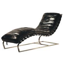 See Details - James Chaise Antique-black