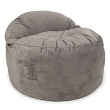 View Product - Queen Chair - NEST Chenille - Charcoal