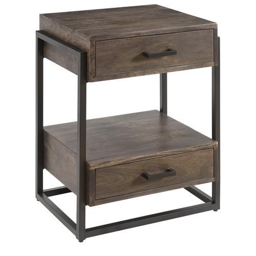 Beckett 2 Drawer Side Table