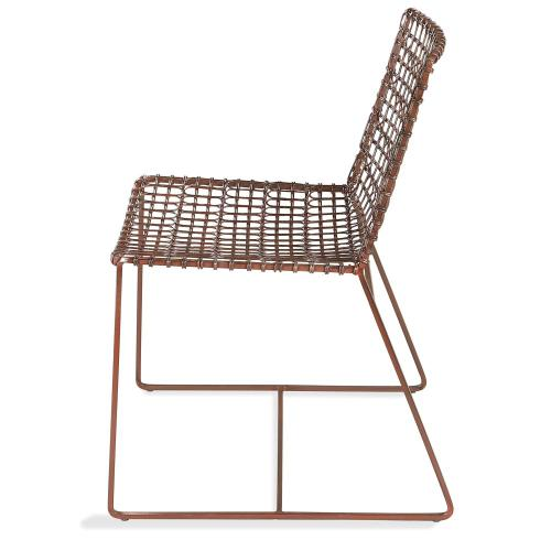 Mix-n-match Chairs - Wire Side Chair - Clay Finish