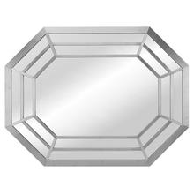 Octavia Wall Mirror  Silver