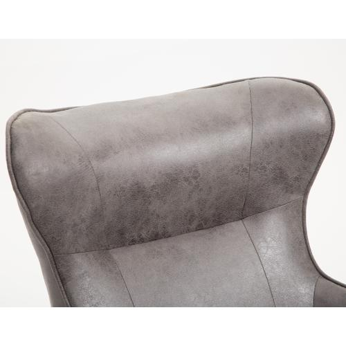Franky Accent Chair, Badlands Charcoal U3327-05-03