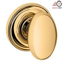 See Details - Lifetime Polished Brass 5025 Estate Knob with 5048 Rose