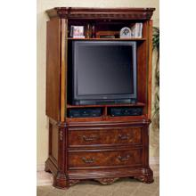 See Details - TV ARMOIRE CHERRY