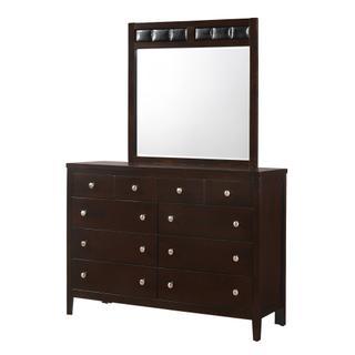 See Details - Lawrence Dresser & Mirror Set