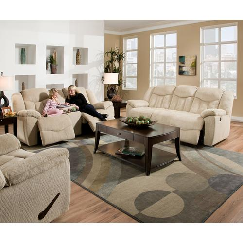 Simmons Upholstery - Double Motion Loveseat