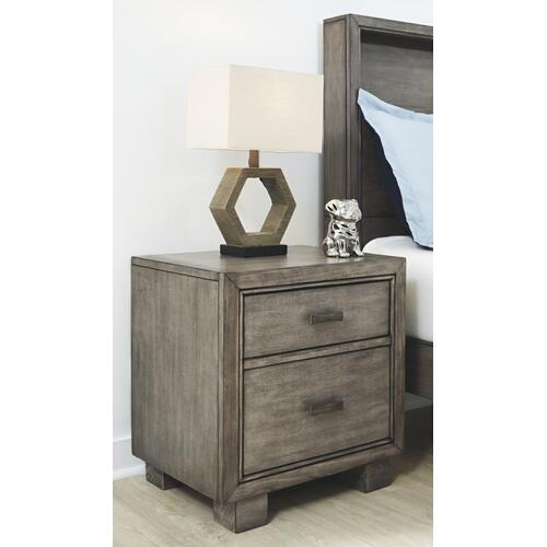Product Image - Full Bookcase Bed With Mirrored Dresser, Chest and 2 Nightstands