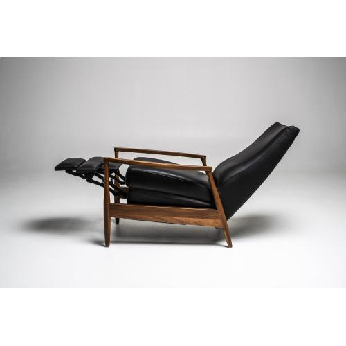 Aston Mid-Century Modern Recliner Chair - American Leather