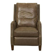 Yale - Umber High Back, Narrow Arm Recliner