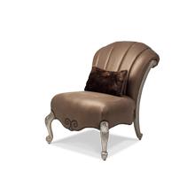 Toledo Op 1 Armless Occasional Chair Platinum