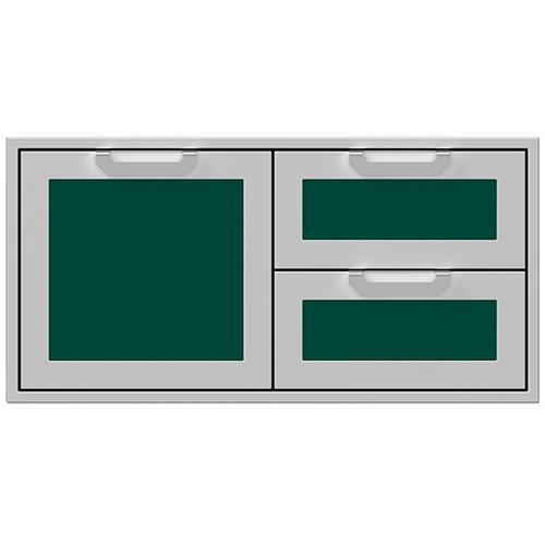 """Hestan - 42"""" Hestan Outdoor Combo Door/Drawer - AGSDR Series - Grove"""