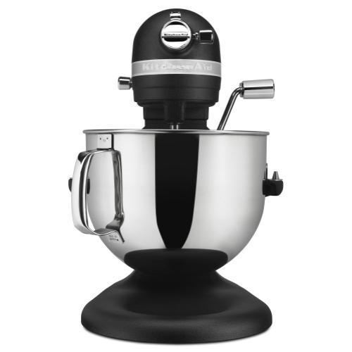 KitchenAid - Pro Line® Series 7 Quart Bowl-Lift Stand Mixer - Cast Iron Black