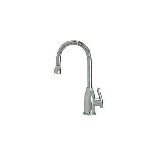 Mountain Plumbing - Point-of-Use Drinking Faucet with Modern Curved Body & Handle - PVD Polished Nickel