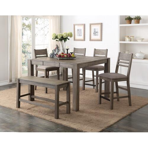 "Cambridge 24"" Bar Stool, Gray Brown 1126-cpb419-s"