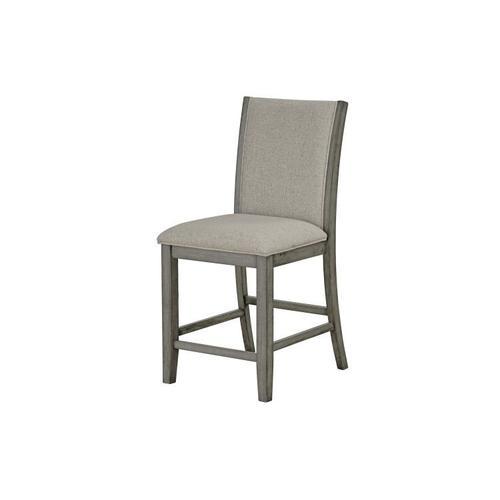 Standard Furniture - Zayden 2-Pack Counter Height Barstool, Grey