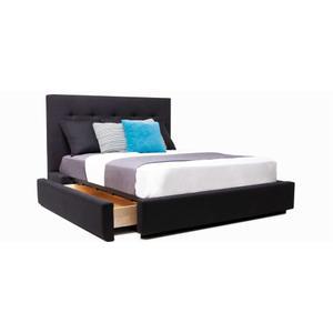Rachel Queen bed, wide base no dust