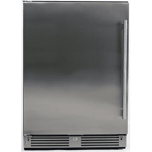 XO APPLIANCE24in Beverage Center Solid SS LH