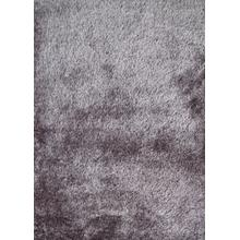 Shaggy Viscose Solid S.V.S. - Gray / 2' x 8'