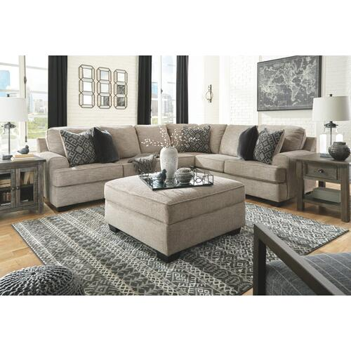 Bovarian 3-piece Sectional Stone