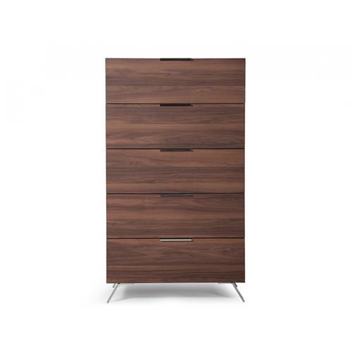 Nova Domus Brooklyn Italian Modern Walnut Chest