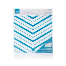 Smart Choice Blue Chevron Trim-to-Fit Refrigerator Liner, 2 Pack