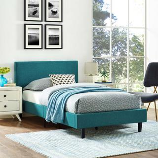 Anya Twin Bed in Teal