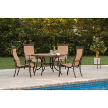 Hanover Monaco 5-Piece Outdoor Dining Set, MONACO5PC