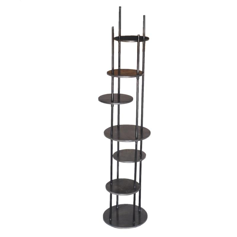 Graham Multiple Round Shelf Etagere