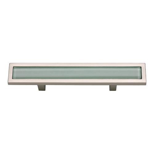 Atlas Homewares - Spa Green Pull 3 Inch (c-c) - Brushed Nickel