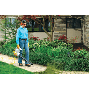 A powerful, quiet, easy-to-use handheld blower.